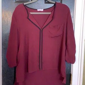 Lush blouse medium
